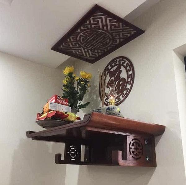 Bàn thờ treo tường tại Đà Nẵng