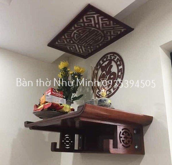Bàn thờ treo tường giá rẻ tại Đà Nẵng