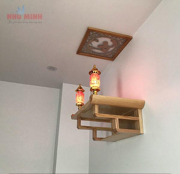 Bàn thờ treo tường nhở gọn Như Minh